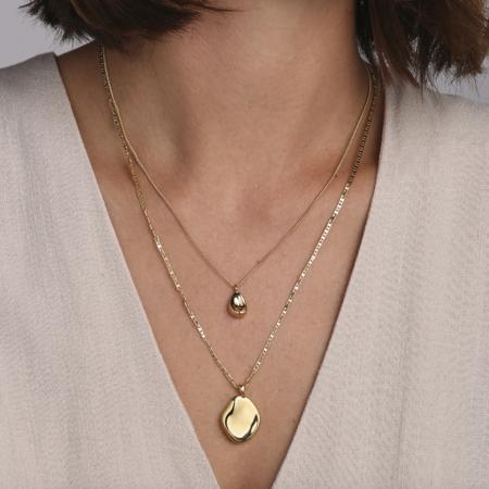 Jenny Bird Mithras Necklace - 14k gold-dipped brass