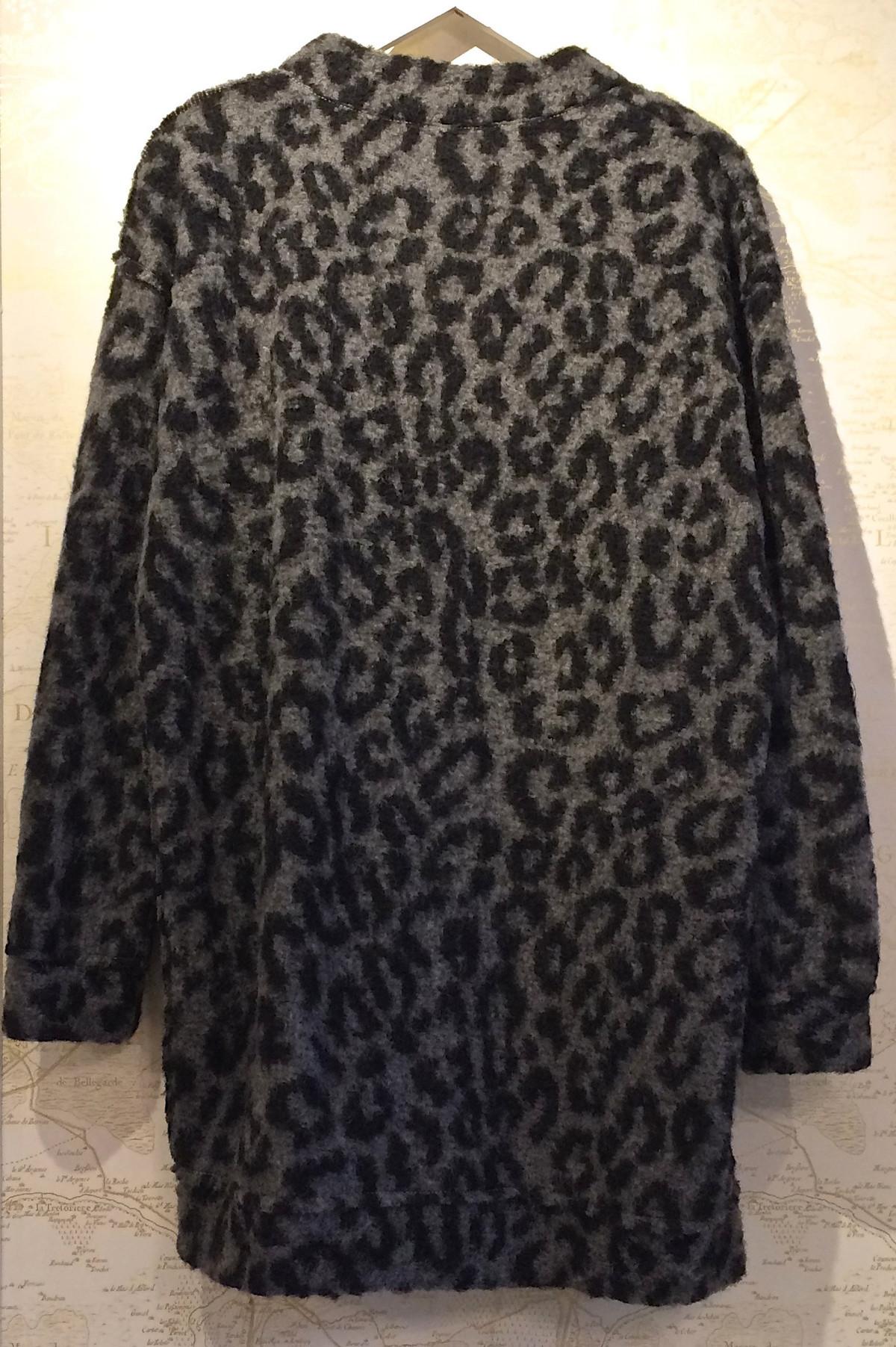 R13 Leopard Knit Cardigan | Garmentory