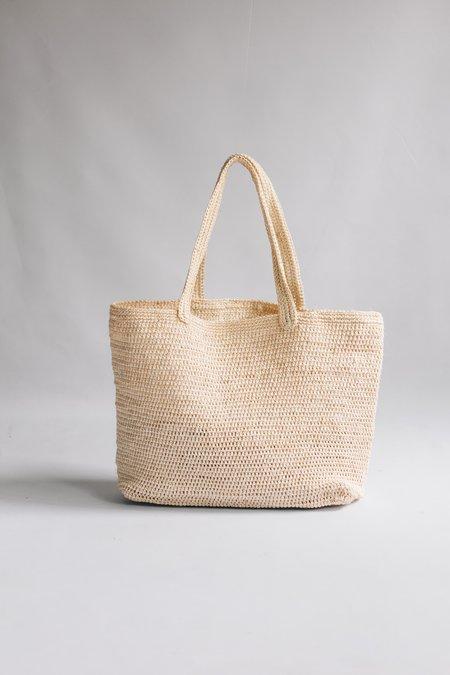 Territory Fiber Tote Bag - Cream