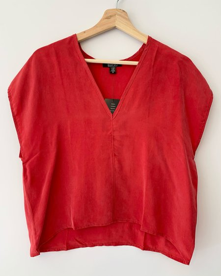 Natalie Busby Box Top - Red