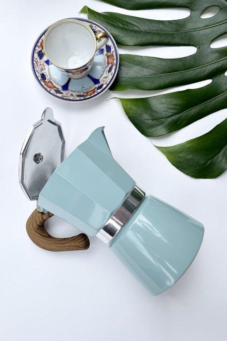 Betwentys Stove Top Espresso Pot - Blue