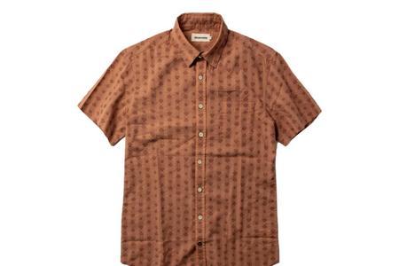 Taylor Stitch California  Short Sleeve Shirt - Arrowhead