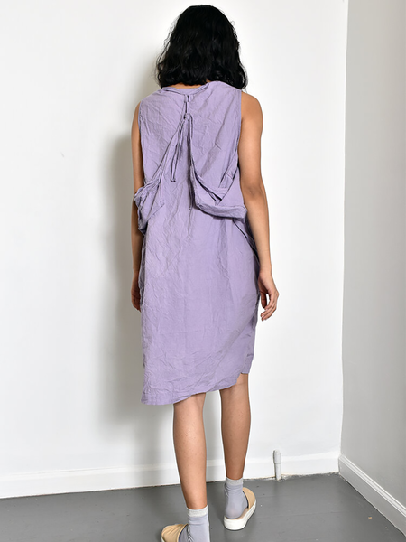 Uzi NYC Oxford Dress - Lavender