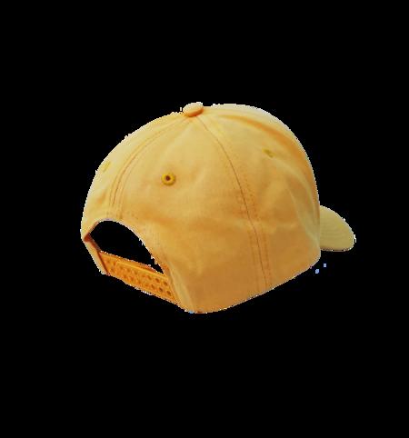 Frog Dino Logo 5-Panel Cap - Yellow