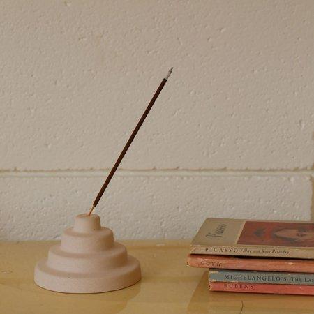 Yield Ceramic Meso Incense Holder - Tan