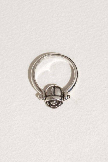 Pamela Love Rotating Scarab Ring - Sterling Silver
