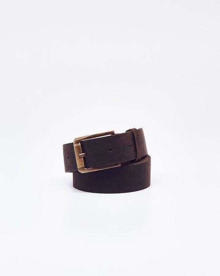 Nisolo Owen Belt - Steel