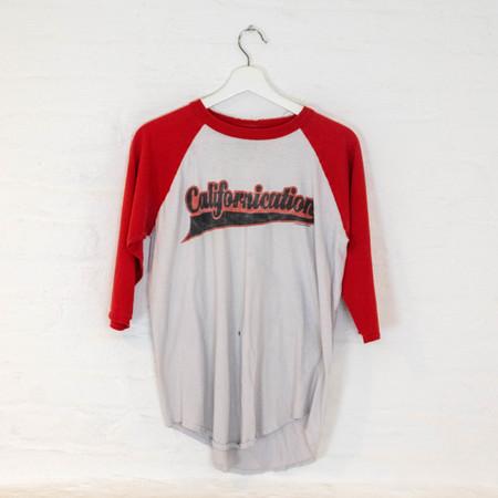 Vintage RHCP '99 LONG SLEEVE - WHITE/RED