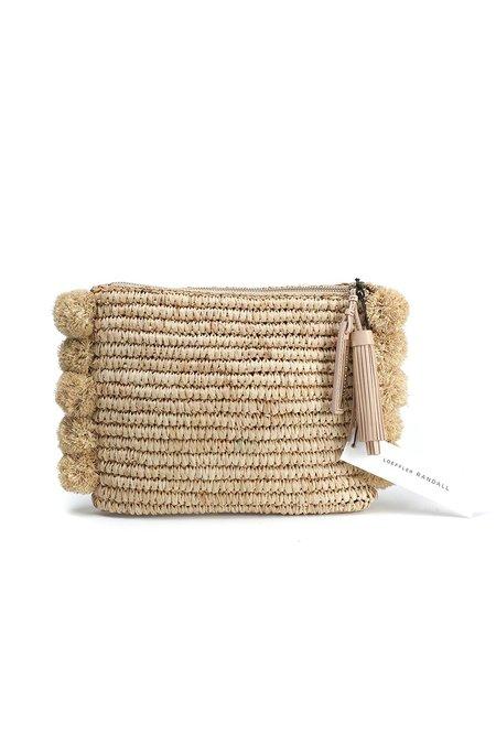 Loeffler Randall TASSEL POUCH bag - NATURAL