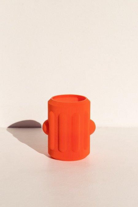 UAU Project S Vase 1 - Bright Orange