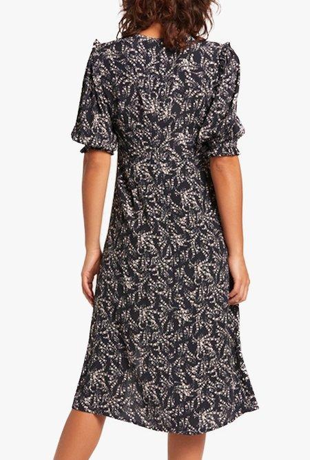 Azalea Chloe Puff Sleeve Midi Dress
