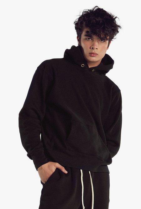 Unisex Les Tien Cropped Vintage Hoodie
