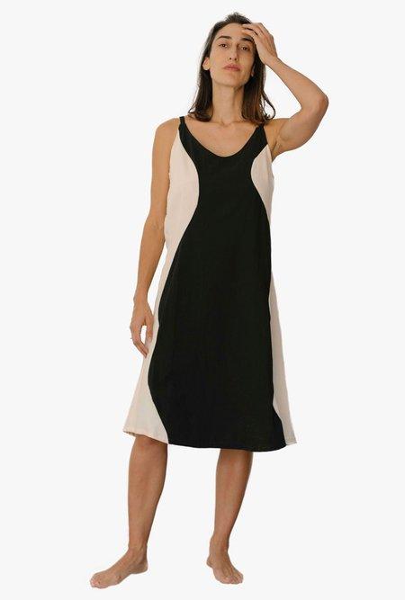 Nin Studio Curve Dress - Black/White