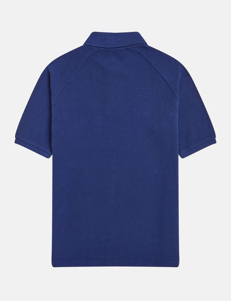 Fred Perry Reissues Mesh Piqué Polo Shirt - French Navy