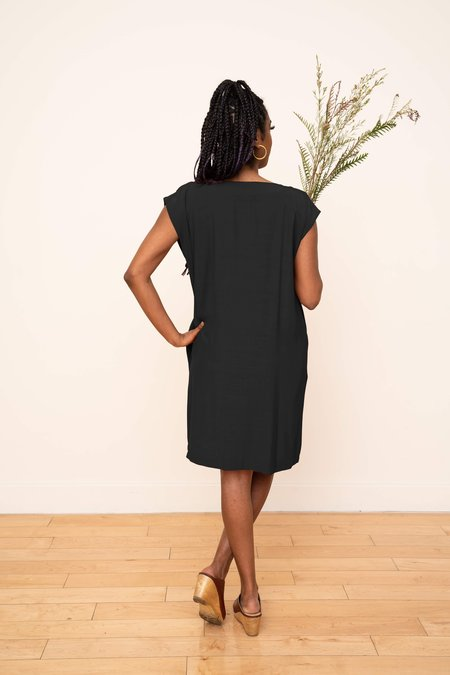 3rd Season Designs Laguna Shift Dress - Black