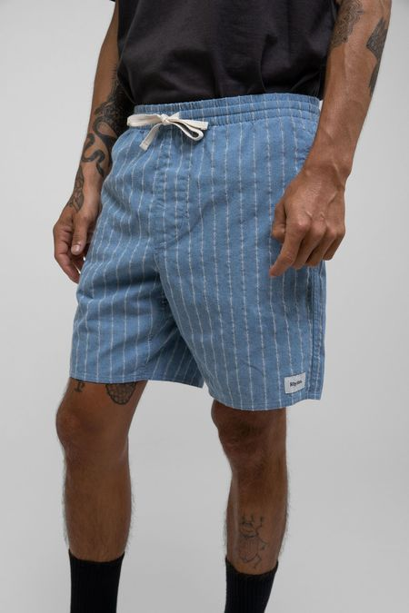 Rhythm  Linen Stripe Jam shorts - Mist