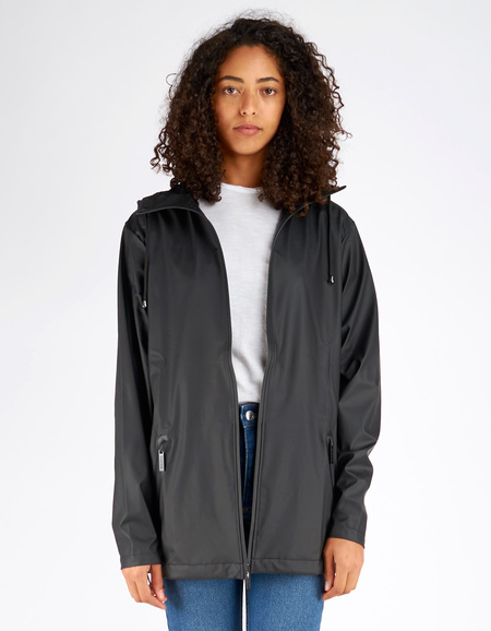 Rains Breaker Jacket Women's Black