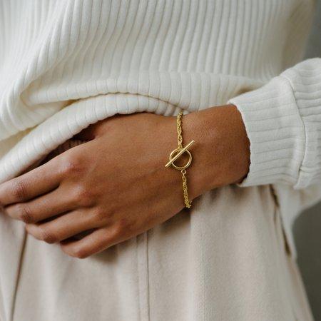 Kara Yoo Naya Toggle Bracelet - Silver