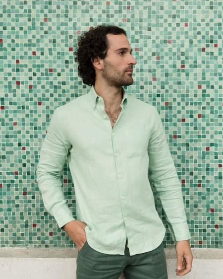 Alex Crane Playa Shirt - Mint
