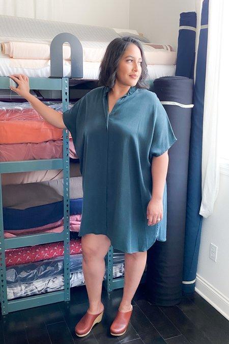 3rd Season Designs Shirt Dress - Jungle Tencel