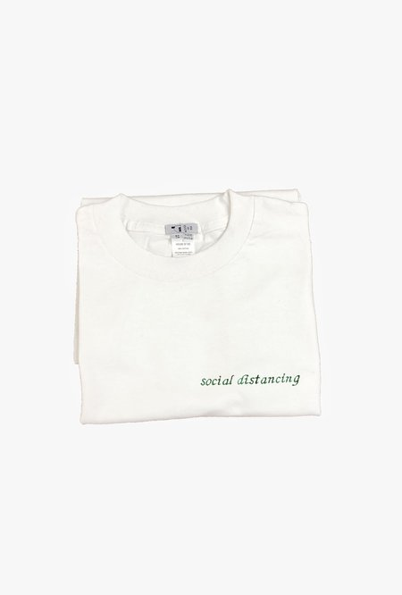 House of 950 Social Distancing T-Shirt - white