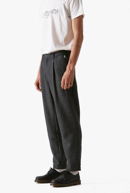 Banks Journal Supply Herringbone Pant - Charcoal