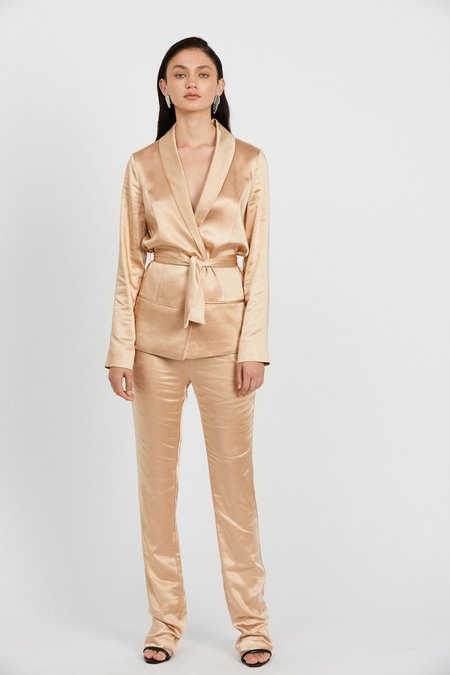 Third Form Wild Flowers Tailored Trouser - Rose Gold