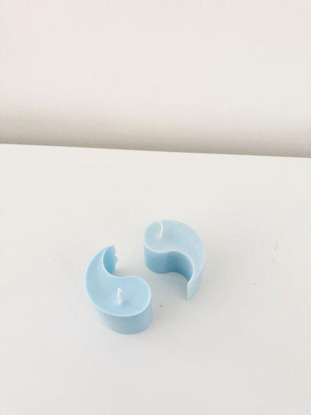Ri-Ri-Ku YIN YANG CANDLE - BLUE