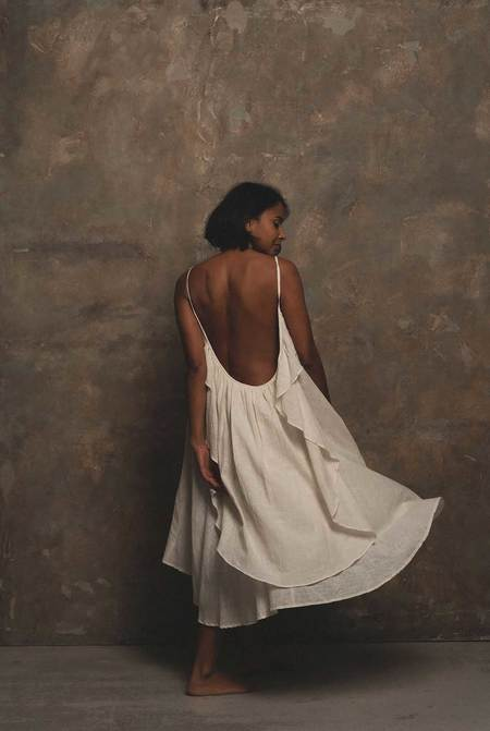 A PERFECT NOMAD GRACE dress - Milk