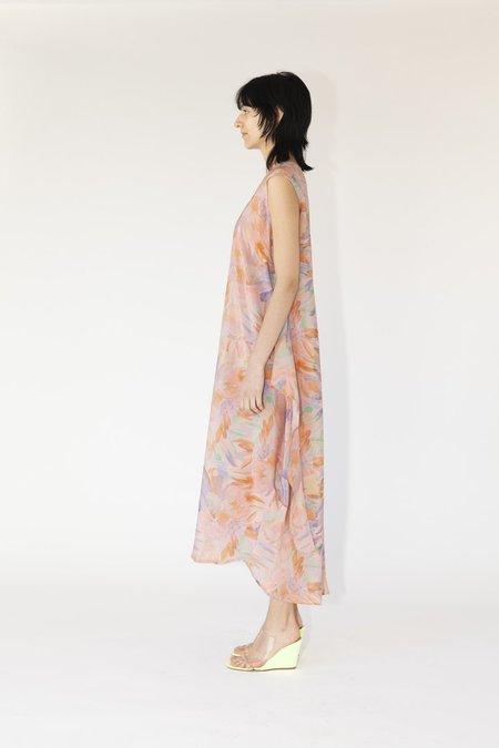 Anntian EASY LIVING DRESS - PINK BOUQUET