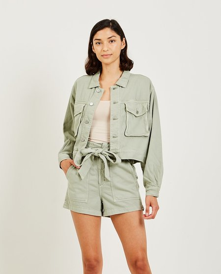 AG Jeans Mirah Fatigue Jacket - agave