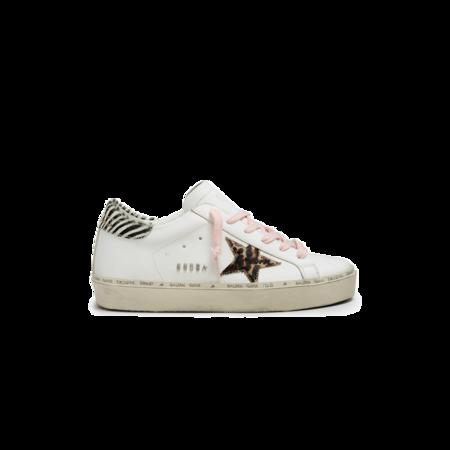 Golden Goose Hi Star Leather Upper Sneaker