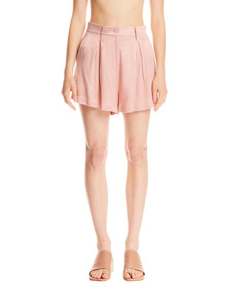 Rotate High Waist Shorts - Pink