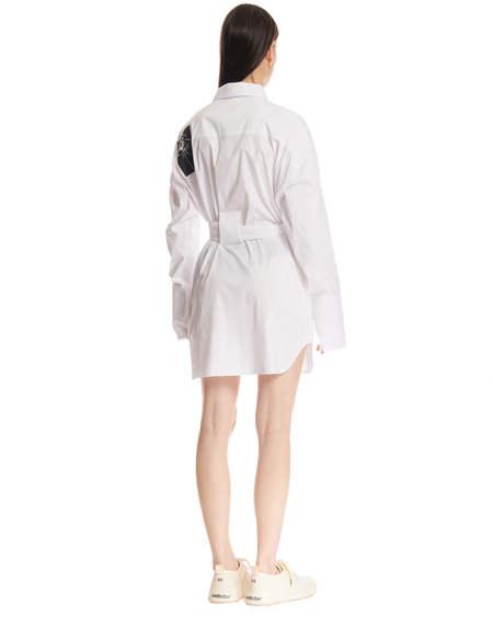MISBHV belt Dress - white