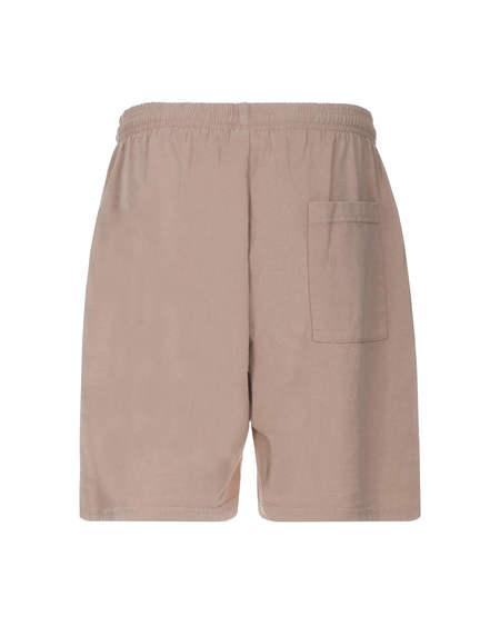 Sporty e Rich Logo Short Pants - Beige