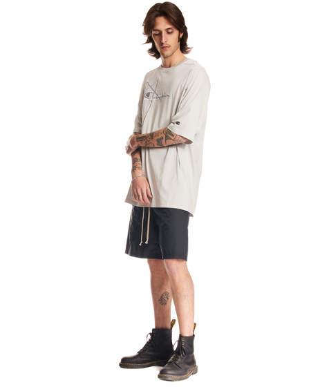 Rick Owens Short Sleeved T-Shirt - Gray