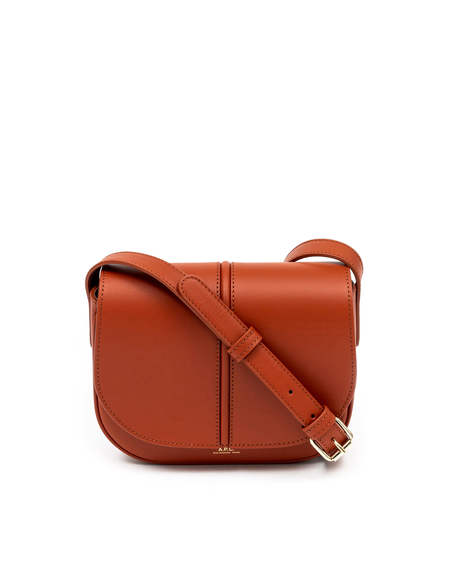 A.P.C. Betty Leather Bag - Brown