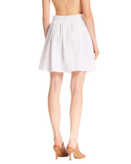 GCDS Wallet Skirt - White