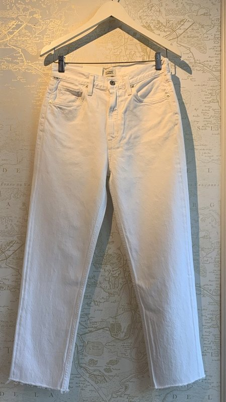 Citizens of Humanity Daphne Crop - Sail White