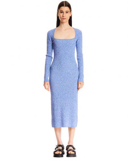 GANNI Midi Dress - Blue