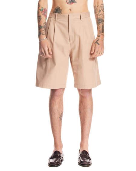 MSGM Wide Shorts - Beige