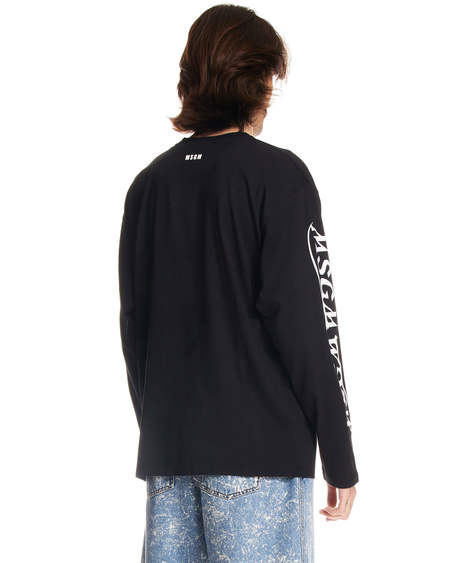 MSGM Long Sleeve Shirt - Black