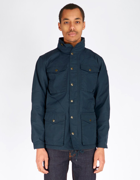 Men's Fjallraven Raven Jacket - Dark Navy