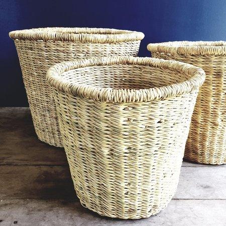 medina Canister Storage Baskets - Natural