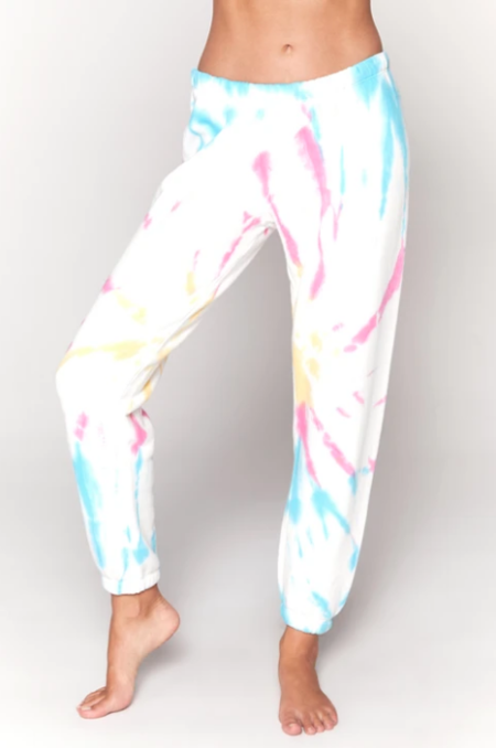Spiritual Gangster Perfect Terry Sweats pants - Sunburst Tie Dye