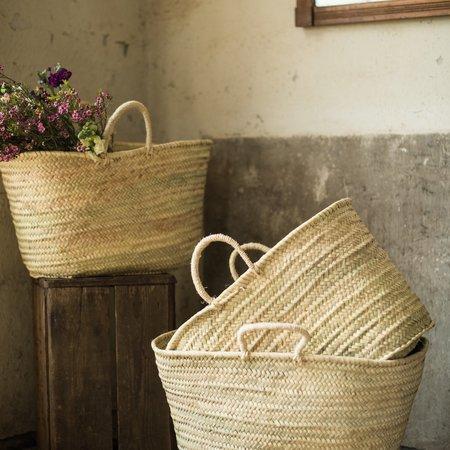 medina Sisal Handled Basket - Natural