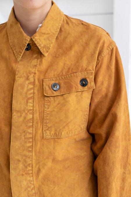 Vintage GERMAN OVERDYED JACKET - orange
