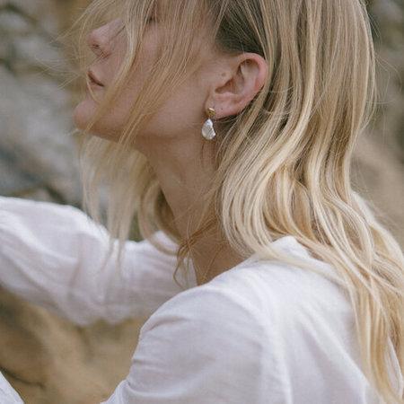 MADA pearl Cloud Earrings