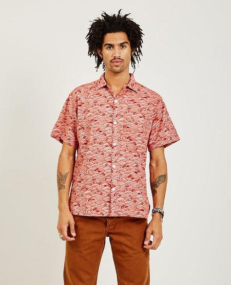 Freenote Cloth Hawaiian Shirt - Red Sea