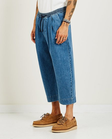 GREI. Ovate Baggy Washed Denim Pant